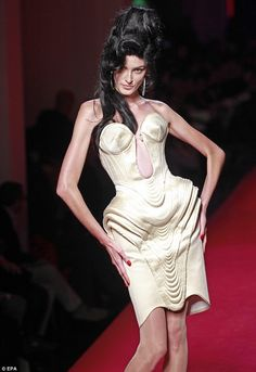 Jean-Paul #Gaultier unveils Couture collection inspired by Amy #Winehouse  2012
