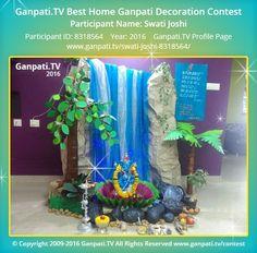 Swati Joshi Decorating With Pictures Ganpati Picture Creative