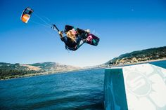 """Competitive kite-boarder, Lindsay McClure, is """"flying high and soaring with confidence"""". In the latest ZGiRLS blog, McClure talks about how she deals with the challenging aspects of the sport and what it is like being an athlete in a male-dominated sport. She has big goals for the future for the sport; read about them here!"""
