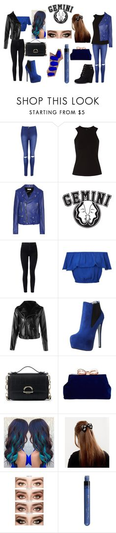 """Gemini Twins inspired outfit"" by teenwolfgirl14 ❤ liked on Polyvore featuring WearAll, Raoul, Yves Saint Laurent, Good American, J Brand, Miss Selfridge, Luichiny, Sole Society and Ted Baker"