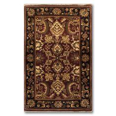 Ornamental Pure Wool Oriental Persian Area Rug(3'x5'Burgundy) (3'x5' Ornamental Persian Area rug), Multi, Size 3' x 5'