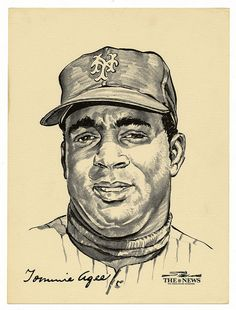 New York Mets Baseball, Baseball First, Ny Mets, Mlb Players, Baseball Players, Soccer Jerseys, Star Trek Posters, Baseball Painting, Lets Go Mets