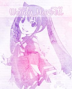 Wendy Marvel the cutest and most innocent of the dragon slayers!