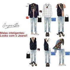 Mala inteligente - looks com jeans!!