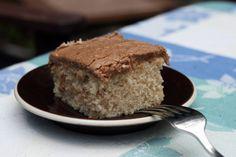 Friday cake from angry chicken - easy-to-make customizable 9x9 cake, make vanilla, cinnamon, chocolate, coffee cake, etc.