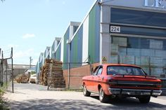 Ford Special Vehicles Lot 6 Mahoneys Road - today, a ceramic tile warehouse