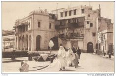 c.1910 - The ancient admirality HQ in the old harbour (Algiers, Algeria)