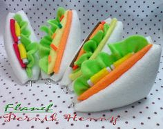 my felt sandwich^^