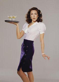 Laura Benanti as Julia in The Wedding Singer on Broadway!