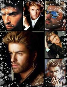 George Michael Andrew Ridgeley Album Cover Stretched Canvas Art Poster Print cd