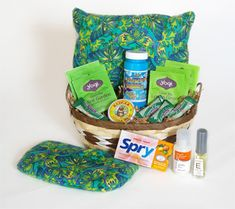 Surgery Happens Basket    Surgery Happens Basket contains essential products that can be used daily while recovering from surgery.   The products bring comfort, encourage healing, moisturize the skin, settle nausea and encourage deep breathing; supporting the body for an easier recovery.