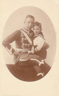 Prinz Joachim von Preussen und Sohn Karl Franz Josef