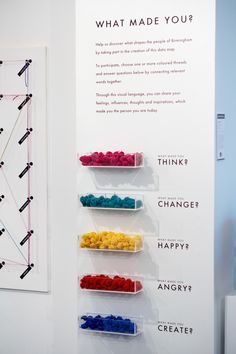 WHAT MADE ME Interactive Public Installation by Dorota Grabkowska, via Behance