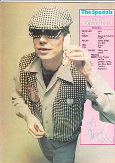 Jerry Dammers, The Specials Jerry Dammers, Terry Hall, Skinhead Fashion, Music Articles, Rude Boy, Fulham, Music Film, Vintage Music, Gentleman Style