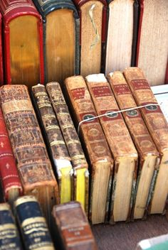 leather bound vintage books france french gold holy crap this is beautiful I Love Books, Books To Read, Old Books, Antique Books, I Love Reading, Book Nooks, Library Books, Book Of Life, Book Nerd