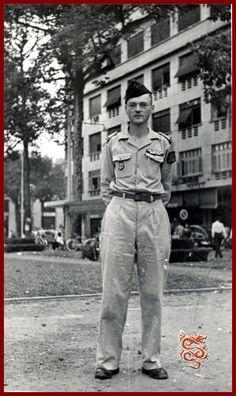 Soldat Maurice Saïgon 1955