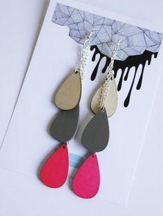 Uhana Design Pisara-earrings