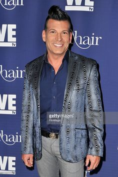 TV personality David Tutera attends the WE tv's 'L.A. Hair' premiere party at Avalon Hollywood on July 14, 2015 in Los Angeles, California.