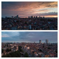 Another quick look on a quiet Brussels before going to bed Brussels Belgium, Mavic, Drone Photography, Seattle Skyline, San Francisco Skyline, Europe, Sunset, Photo And Video, Landscape