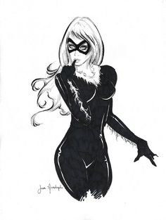 Black Cat - Jose Arredondo Comic Art