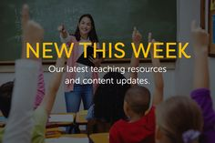We've added some exciting new content to TeacherVision recently! Check out what we've been up to