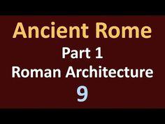 건축자료 - 06. 고대 로마 건축 (Roman Architecture)