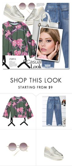 """""""Casual"""" by duma-duma ❤ liked on Polyvore featuring Versace"""
