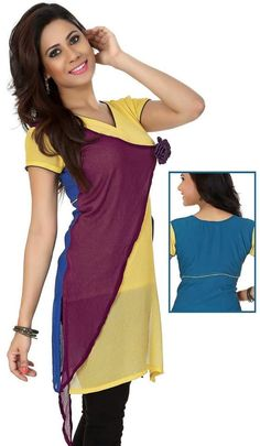 New Designs Of Ladies Kurti And Tunic For Formal And Casual Wear By Lalit Khatri