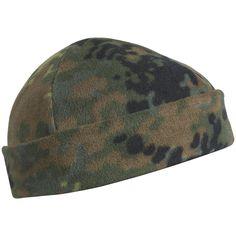 Helikon Tactical Army Patrol Watch Cap Warm Docker Hat Hunting Beanie Flecktarn #Helikon #Beanie
