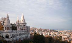 Halászbástya (Fisherman's Bastion) | 29 Places That Prove Budapest Is The Most Stunning City In Europe