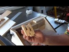Finger Joints single blade JIG - parte 2/2 - YouTube