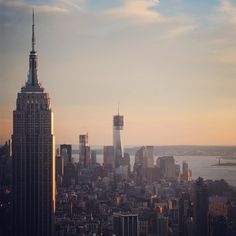 ESB and WTC 1 – Photo by uptowneastnyc