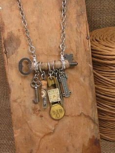 upcycled vintage jewelry ideas - Google Search