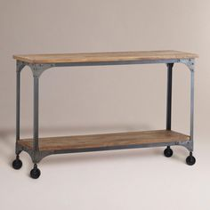 Aiden Console Table | World Market | $239