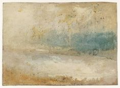 Joseph Mallord William Turner, 'Waves Breaking on a Beach' ?c.1840-5
