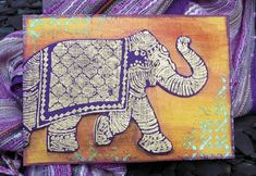 Postcards from the Attic: Stampendous Nathalie Kalbach Hop - Elephants on Parade!