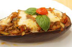 melanzane ripiene_9594ok Mozzarella, Lasagna, Ethnic Recipes, Projects, Food, Log Projects, Blue Prints, Essen, Meals
