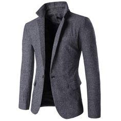 Gender: Men Item Type: Blazers Sleeve Length: Full Model Number: Men Blazers Material: Cotton,Polyester Closure Type: Single Breasted Clothing Length: Regular size Cross Shoulder(cm) Chest Width(cm) B