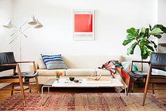 トータルの雰囲気は北欧風のモダンなお部屋です。