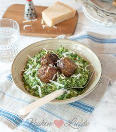 Palak Paneer, Sprouts, Healthy Recipes, Healthy Food, Nom Nom, Avocado, Pesto, Homemade, Vegetables