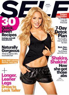 Shakira en Self 2013
