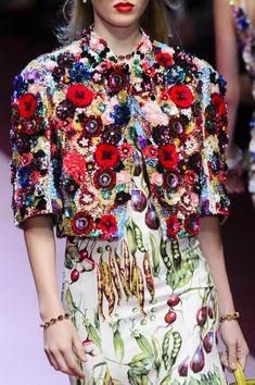 Dolce & Gabbana - Spring 2018, FW Milan (Details) \3\. Обсуждение на LiveInternet - Российский Сервис Онлайн-Дневников