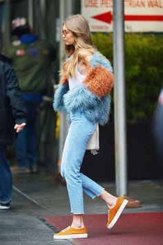 The 9 Gigi Hadid Outfits Everyone Can Afford via @WhoWhatWearUK