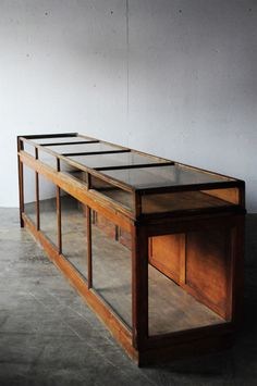 before after furniture Furniture Projects, Find Furniture, Antique Furniture, Furniture Design, Cabinet Shelving, Shop Cabinets, Furniture Inspiration, Display Case, Entryway Tables