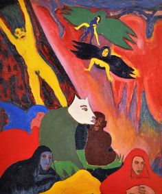 Structure and Imagery: Bob Thompson A Most Visionary Painter African American Artist, American Artists, Death In Rome, Art Brut, Whitney Museum, Naive Art, Outsider Art, Contemporary Paintings, Folk Art