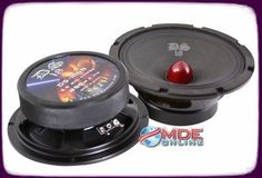 DS18 DS-M6B 6-Inch 800W Peak / 400W RMS Bullet Mid Speaker! Need speakers like this for my car
