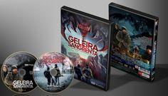 Geleira Sangrenta - Capa | VITRINE - Galeria De Capas - Designer Covers Custom | Capas & Labels Customizados