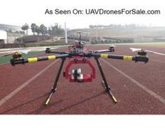 OFM Brute-Q1200 Giant QuadCopter UAV Drone For DSLR Cameras Aerial Video Filming.  http://uavdronesforsale.com/index.php?page=item=138