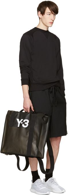 Y-3 - Black Beach Tote Bag