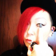Today's nail art #nailart #eye  #Eyeball #instapic